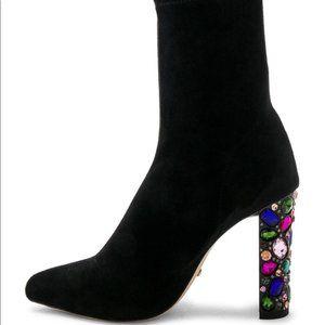 RAYE Cortez Bootsin Black Suede Size 7.5
